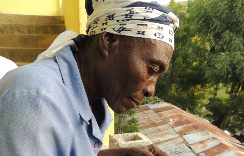 Alpha adult literacy student Haiti Rayjon
