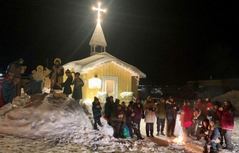 Feu de Noël, Kuujjuaq